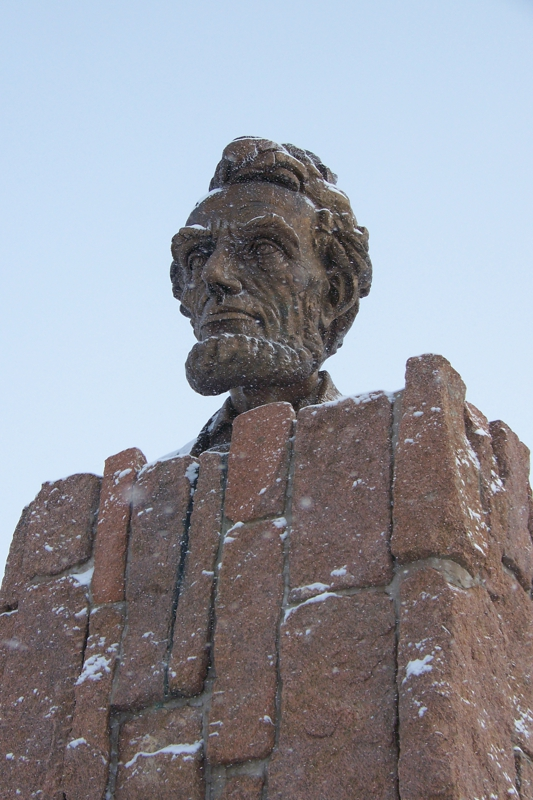Abe Lincoln Bust by Robert Russin