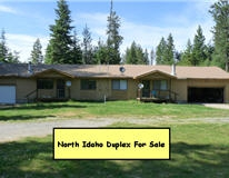 North Idaho Duplex for Sale