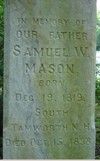 Samuel Mason Accotink Methodist Church Cemetery
