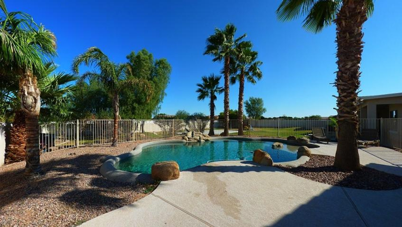 Price reduced on this acreage home in queen creek horse for Pool builders queen creek az