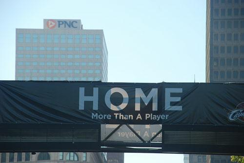 Home More than a player banner lebron james
