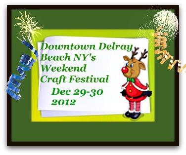 Delray Beach Craft Festival December