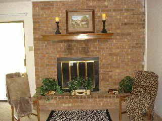 Fireplace, After Staging