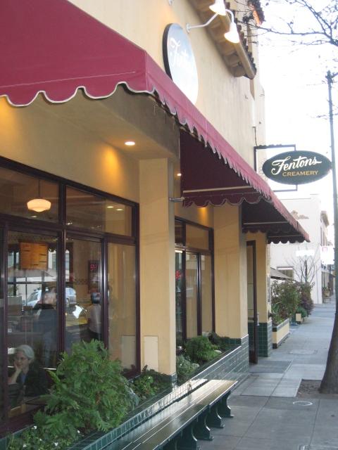 Fenton'ss Ice Cream, Oakland CA