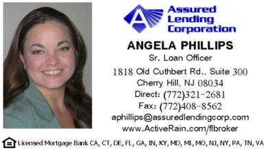 business card -- Angela Phillips