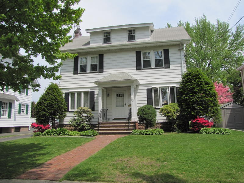 rutherford nj center hall colonial homes for sale
