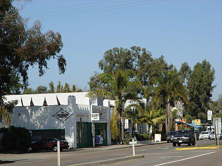 The main drag in Leucadia - The Coast Highway or Route 101