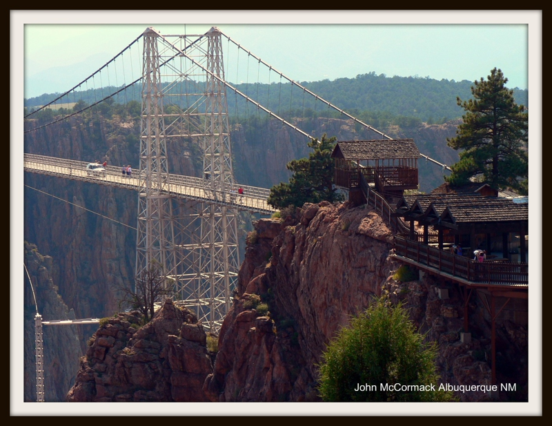 Walk or Drive Across the Royal Gorge Bridge
