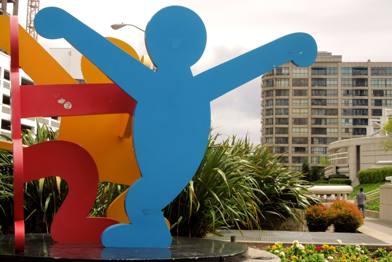 Keith Haring - Moscone Center - 300 3rd Street - Museum Parc