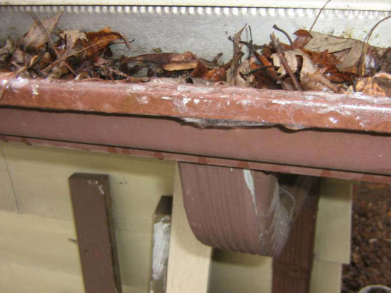 how to connect a downspout to a gutter