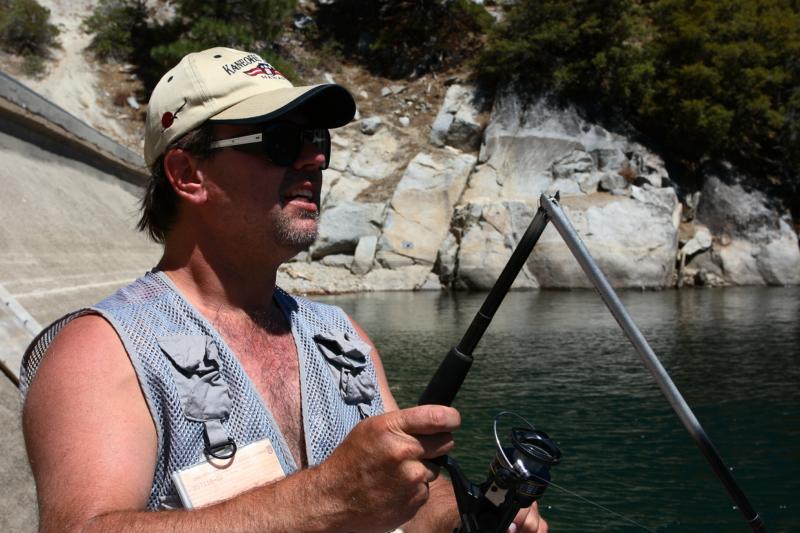 Brad Fishing