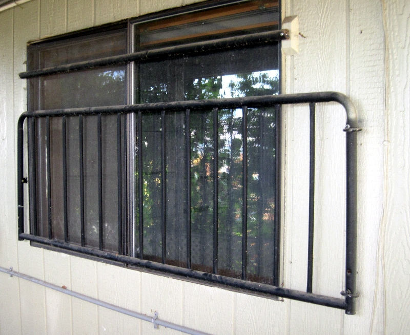 Security Bars over bedroom window