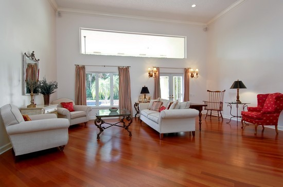 Cherry Wood Floor Living Room Great Pictures