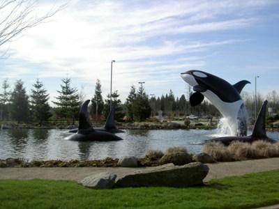 The entrance to the Tulalip Casino in Tulalip Washington.