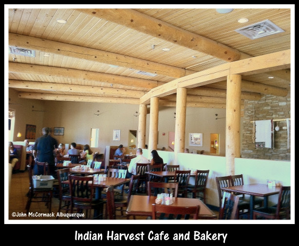 Indian Harvest Cafe and Bakery, Albuquerque, food, dine, pueblo, john mccormack, mccormick, realtor, albuquerque homes realty