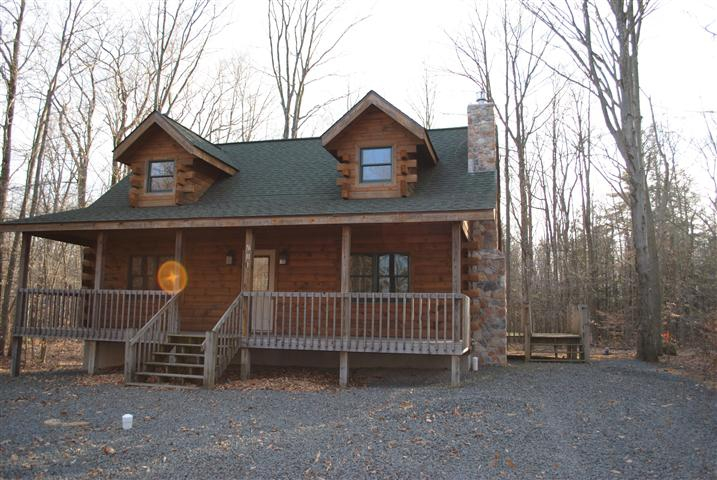 290 Delaware Trail Pocono Lake Pa 18347 Log Home In