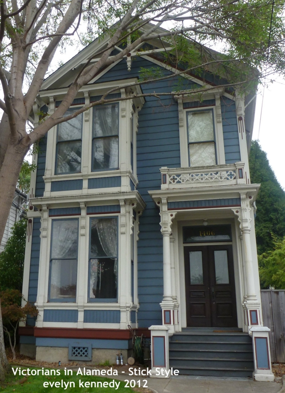 Victorians in alameda stick eastlake style for Eastlake house plan