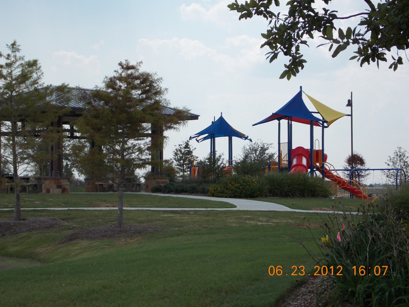 Cinco Ranch new pool/park opening June/July 2012