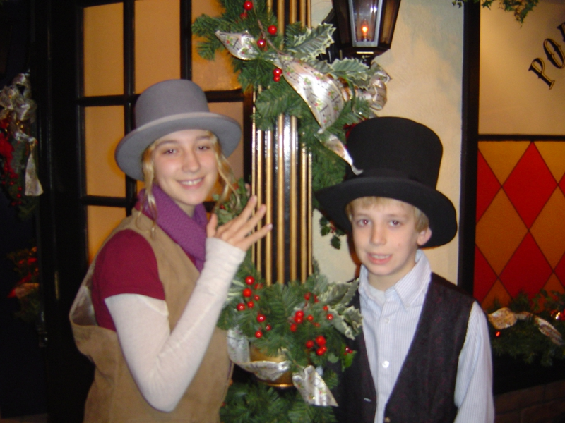 Byers' Choice Christmas Museum in Chalfont, PA