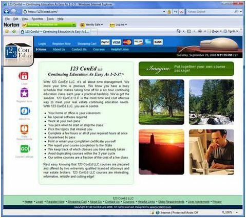 www.123ConEd.com Michigan real estate continuing education