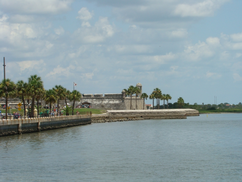 Fort in St Augustine Florida