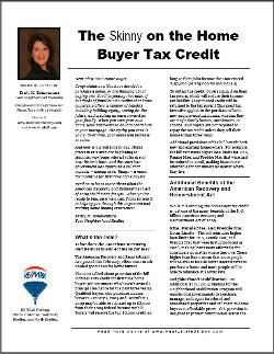 Thumbnail for tax credit newsletter
