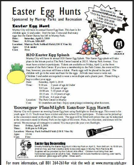 Flashlight Teen Age Easter Egg Hunt 56