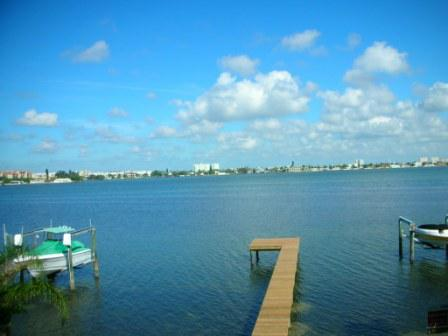 view from 1210 Boca Ciega Isle dr. in St. Pete ebach