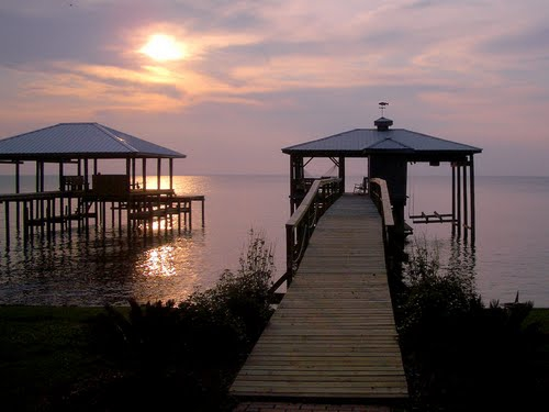 Beautiful Mobile Bay View from Fairhope, AL