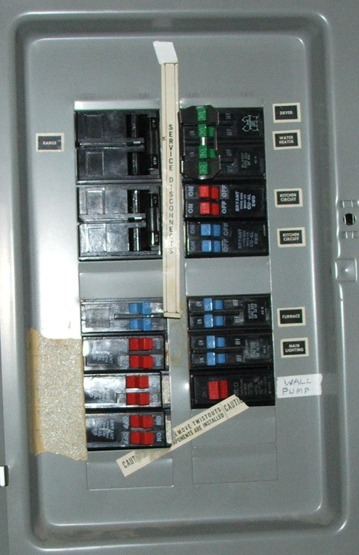 my electrical panel has no main breaker is that a problem rh activerain com Fuse Box vs Breaker Box Electric 30Amp Fuse Box Wiring