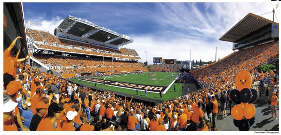 Oregon State University football
