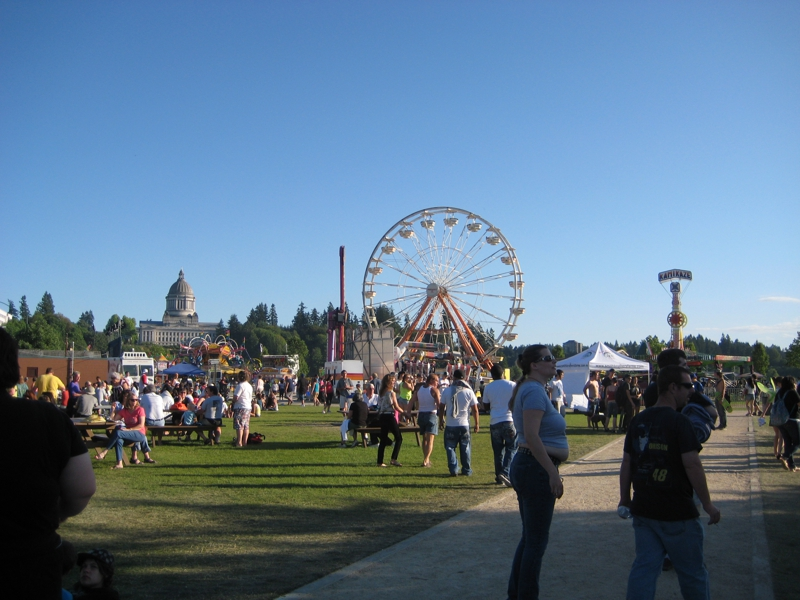 Lakefair in Olympia