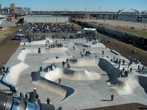 Davenport Iowa Skatepark
