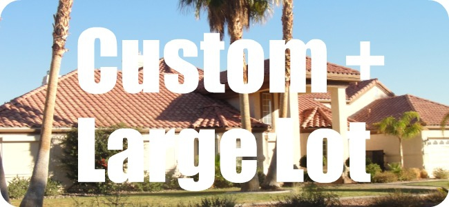 Las Vegas Houses - Custom Large Lot