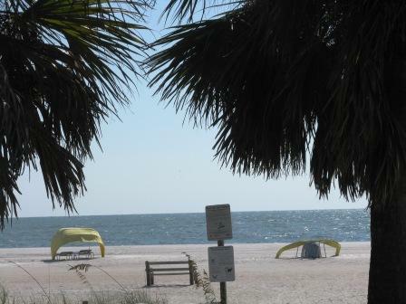 beach access on treasure Island