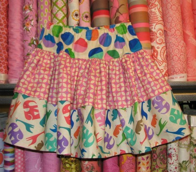 childrens sewing project