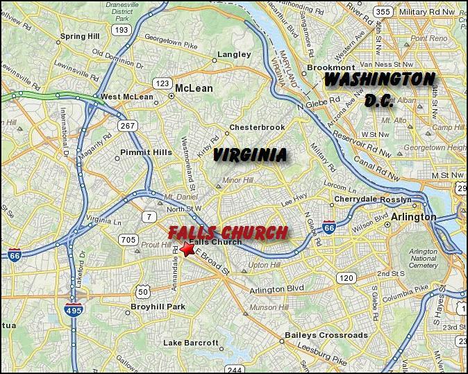 Falls Church Va Zip Code Map.Falls Church Va Map Www Naturalrugs Store