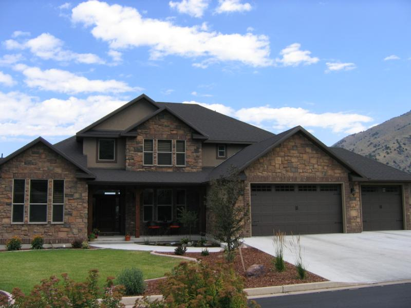 Quail bluff homes in logan utah luxury living with great Building a house in utah