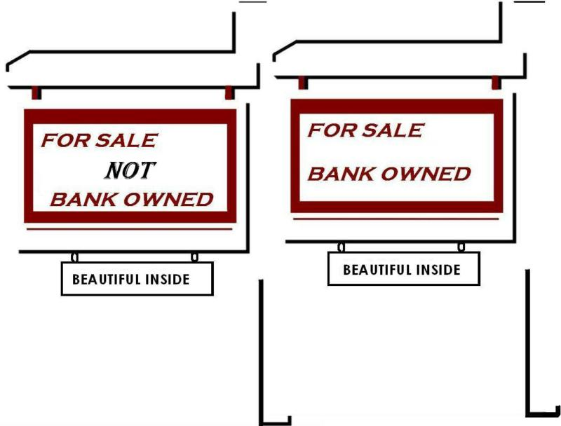 House for sale signs by Teri Eckholm REALTOR
