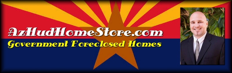 Parkwood Ranch, Mesa AZ Govt. Foreclosed  HUD Home for Sale - 10660 E Florian Ave