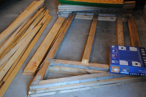 Thinking outside the box in edmonton even a shed package for Garage packages edmonton