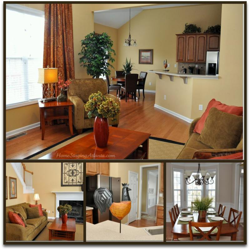 Vacant home staging before after pictures my latest for Home staging before and after
