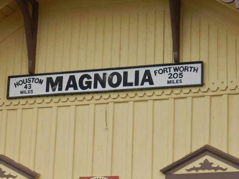 magnolia depot sign