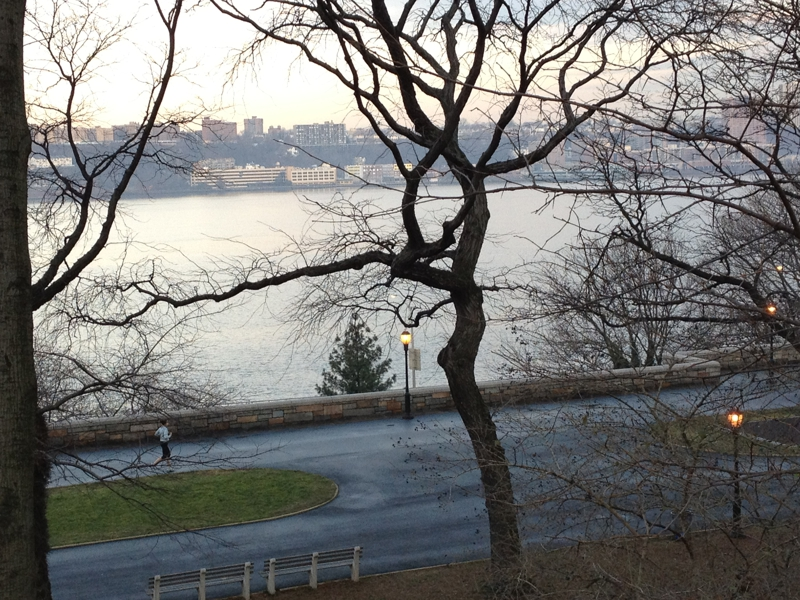 Hudson River from Riverside Drive