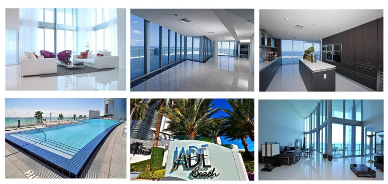 Jade Beach and Jade Ocean Sunny Isles Beach Call our Condo and Home Specialist Valeria Mola 305-607-0709  or Evelina Tsigelnitskaya 305-383-5462 If you are going to sell, buy or lease  allow us to help you.