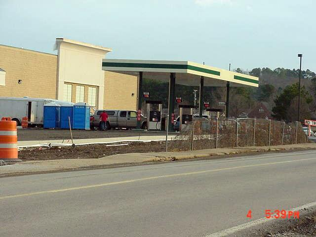 Our new Harps Grocery in Searcy AR is almost finished.