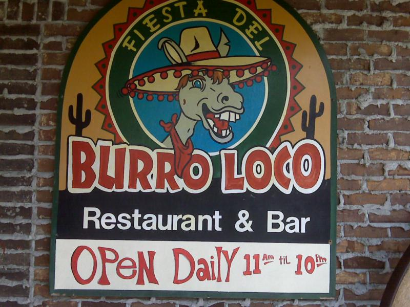 Fiesta Del Burro Loco Mexican Restaurant In Myrtle Beach Sc