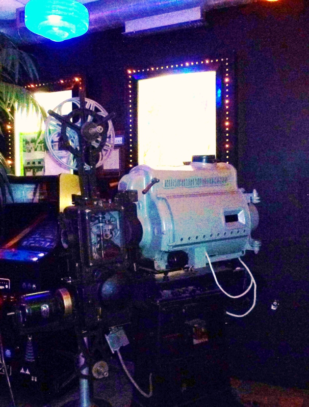 Movie Camera at the Pikes