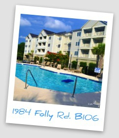 2 Bedroom, 2 Bath Condo Minutes from Folly Beach