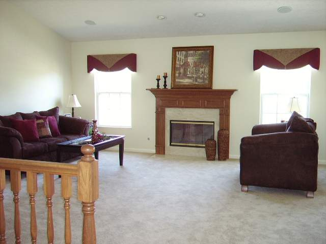 3/4 bedroom ranch house for sale near Purdue University, Purdue Research Park, Burnett's Creek Elementary with finished basement, fireplace, vaulted great/living room, and deck in Hadley Moors Subdivision listed for sale by West Lafayette real estate agent Sharon Walter Keller Wiliams Realty Lafayette, IN 47905, 47906, 47909.